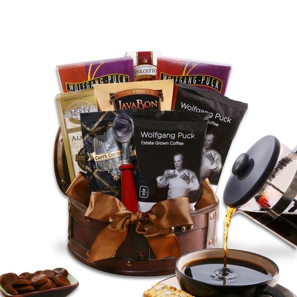 Alder Creek Gift Baskets Coffee King Trunk