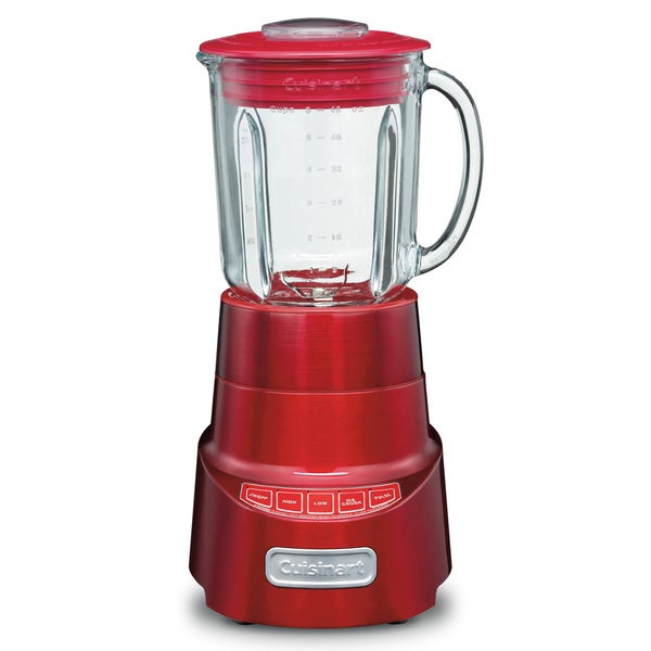 Cuisinart SPB -600MRFR Metallic Red SmartPower Deluxe Blender (Refurbished)