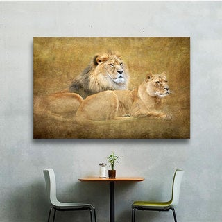 Antonio Raggio 'Lions' Gallery-Wrapped Canvas