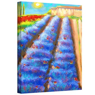 Susi Franco 'Provence Rows' Gallery-Wrapped Canvas