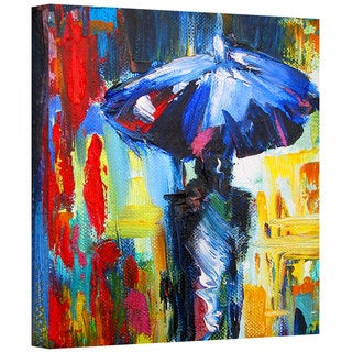 Susi Franco 'Downtown Stroll' Gallery-Wrapped Canvas