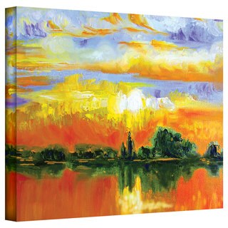 Susi Franco 'The Zen of Italy' Gallery-Wrapped Canvas