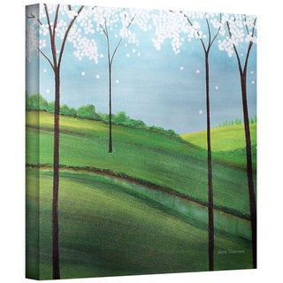 Herb Dickinson 'Whimsy Spring' Gallery-Wrapped Canvas