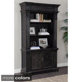 Kosas Home Chael Distressed Pine Bookcase