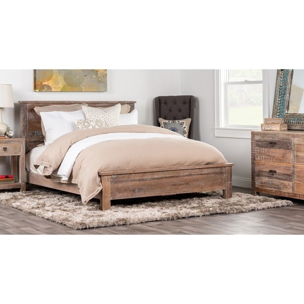 Hamshire Reclaimed Wood Queen Bed By Kosas Home
