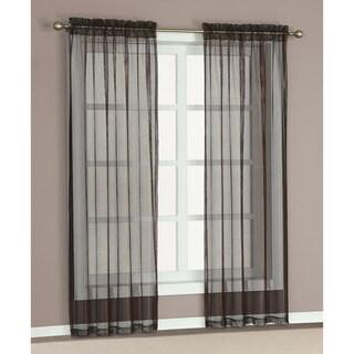 Morena Sheer Curtain 84-inch Panel Pair