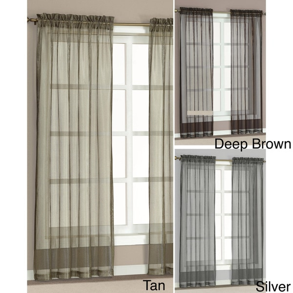 Morena Sheer Curtain 84-inch Panel Pair