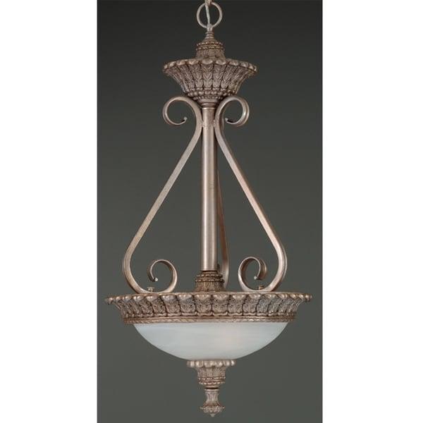 Wilshire Portofino Collection Alabaster Glass Pendant