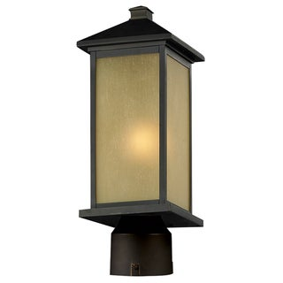 Vienna Outdoor Oil Rubbed Bronze Post Head Light