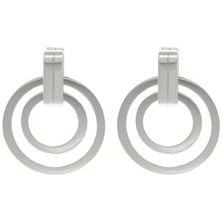 Ultra Style' Double Circle Earrings