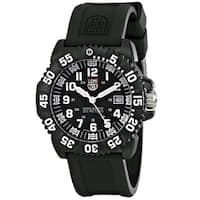 Luminox Men's 'Navy Seal Colormark 3051' Black Watch