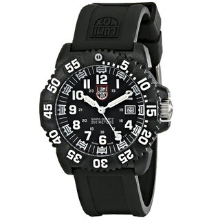 Luminox Men's 'Navy Seal Colormark ' Black Watch