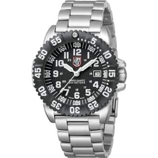 Luminox Men's 'Steel Colormark 3152' Luminous Watch|https://ak1.ostkcdn.com/images/products/7957764/7957764/Luminox-Mens-Steel-Colormark-3152-Luminous-Watch-P15329873.jpg?impolicy=medium