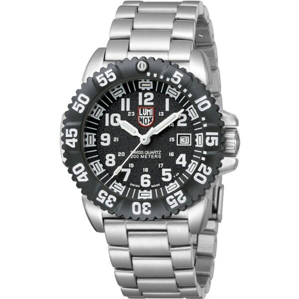 Luminox Men's 'Steel Colormark ' Luminous Watch