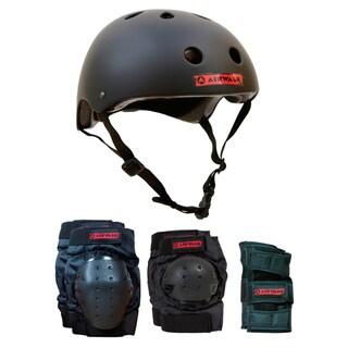 Airwalk 4-in-1 Helmet/ Pad Combo