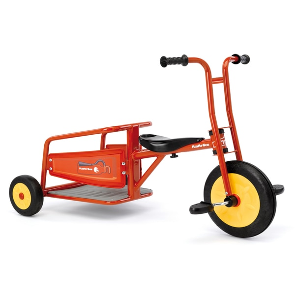 Italtrike Atlantic Carry Ride-On Fire Truck Tricycle
