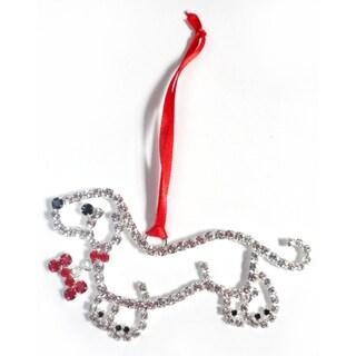 Buddy G's Austrian Crystal Dachshund Ornament