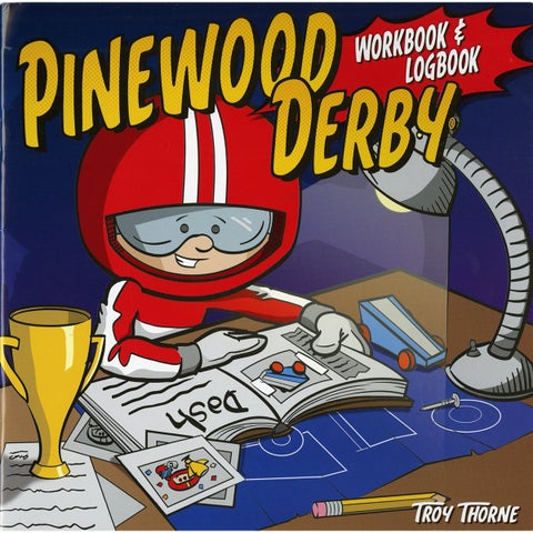 Design Originals Pinewood Derby Workbook and Logbook - Brown