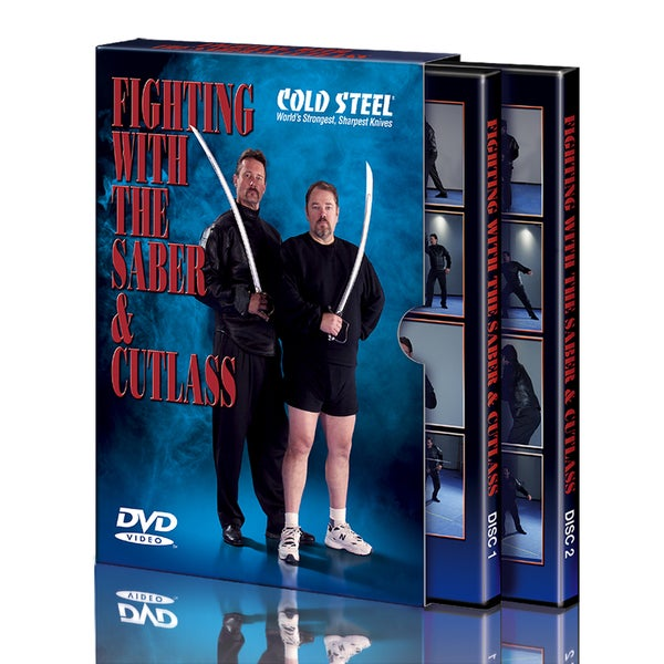 Cold Steel 'Fighting with the Saber and Cutlass' DVD Set