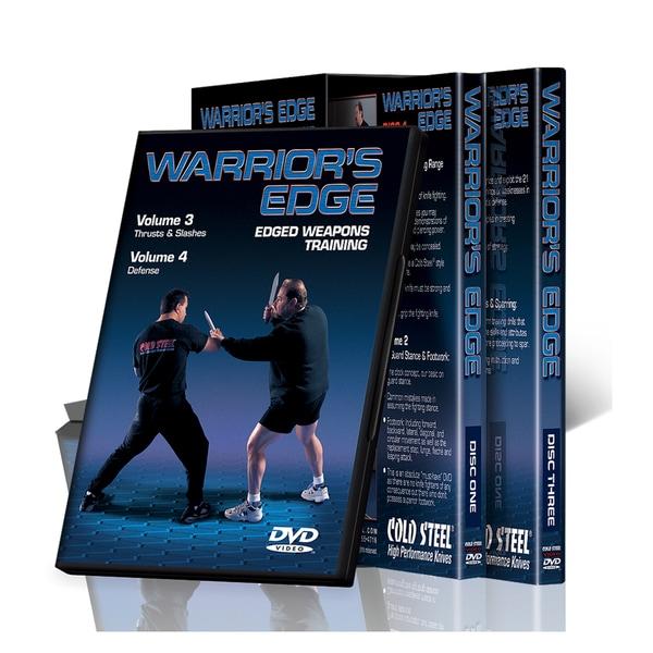 Cold Steel 'Warriors Edge' 3-DVD Set