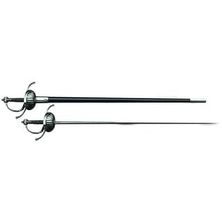 Cold Steel 88CHR Ribbed Shell Swept Hilt Rapier Sword