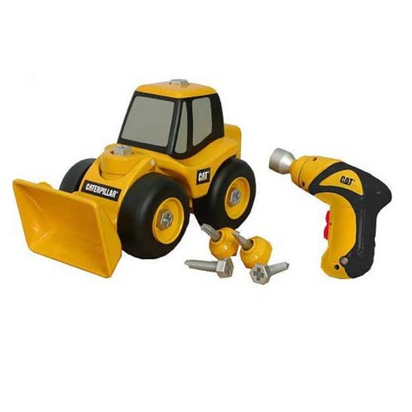 Caterpillar Construction Take-A-Part Front Loader and Drill