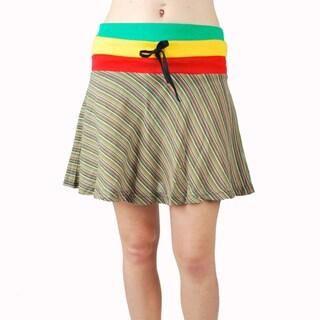 Mini Frill Rasta Skirt (Nepal)