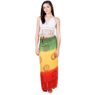 Handmade Rasta Tie Dye Sarong (Nepal)|https://ak1.ostkcdn.com/images/products/7958107/P15330189.jpg?impolicy=medium
