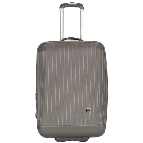 Lotus Oneonta 20-inch Grey Carry On Upright Suitcase - 0