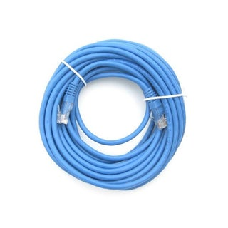 Cat5e Network Ethernet Blue 15-foot Cable (Set of 2)