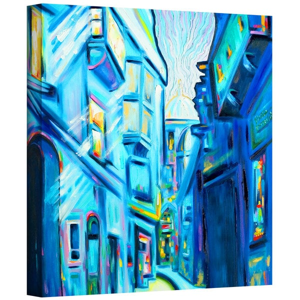 Susi Franco 'Magical Alleys of Venice' Gallery-Wrapped Canvas