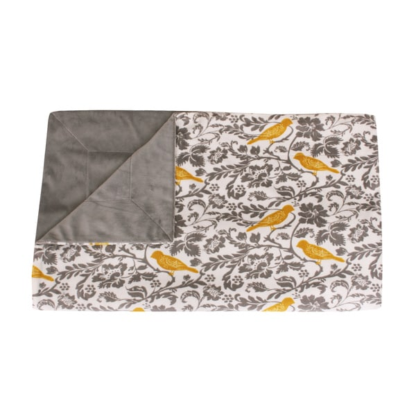 Thro by Marlo Lorenz Selma Bird Microplush Throw (50 x 60)