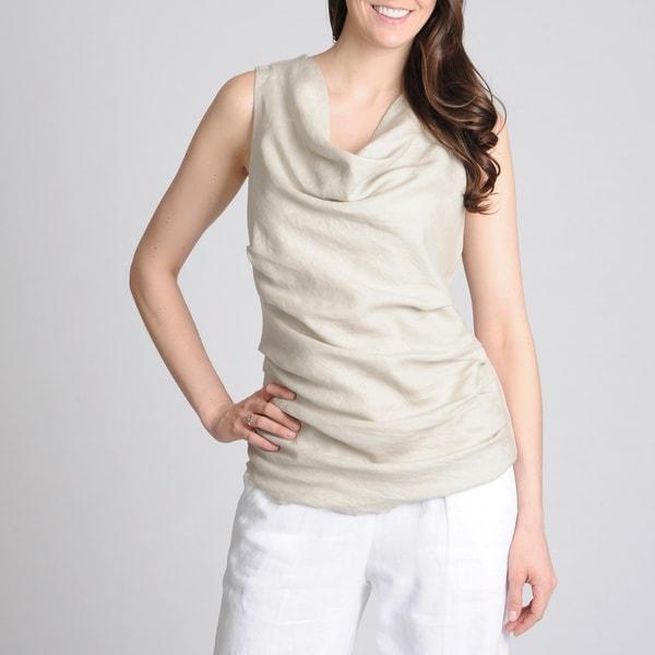 Grace Elements Women's Drape Neck Top