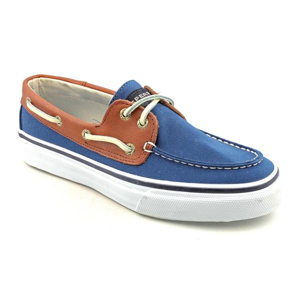 Sperry Top Sider Men's 'Bahama 2-Eye Canvas/Leather' Canvas Casual Shoes