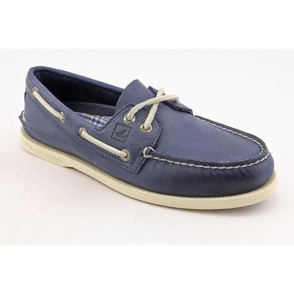 Sperry Top Sider Men's 'A/O 2-Eye Burnished' Leather Casual Shoes