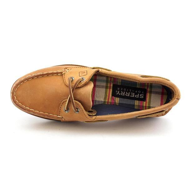 tan sahara women's sperry boat shoe