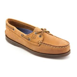 Sperry Top Sider Women's 'A/O 2-Eye' Leather Casual Shoes - Wide