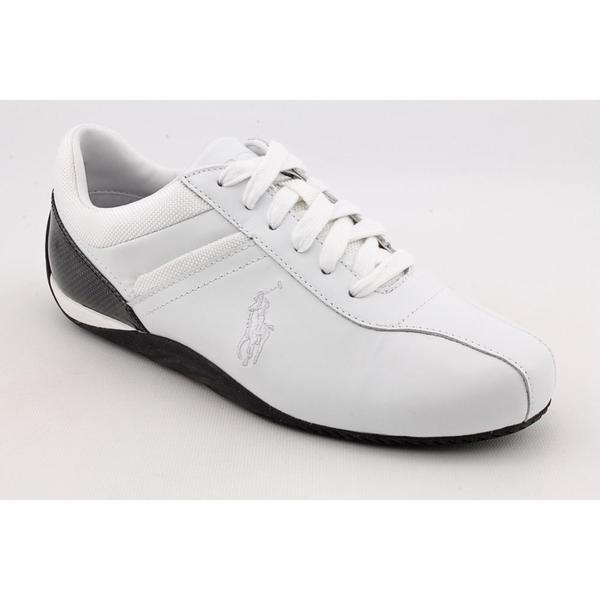 Polo Ralph Lauren Men's 'Barnham' Leather Athletic Shoe