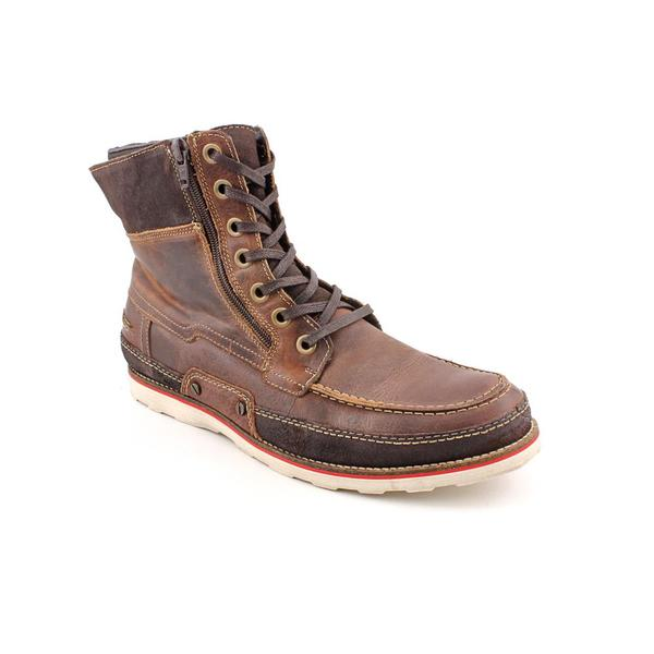 Steve Madden Men's 'Suffolk' Leather Boots (Size  13 )