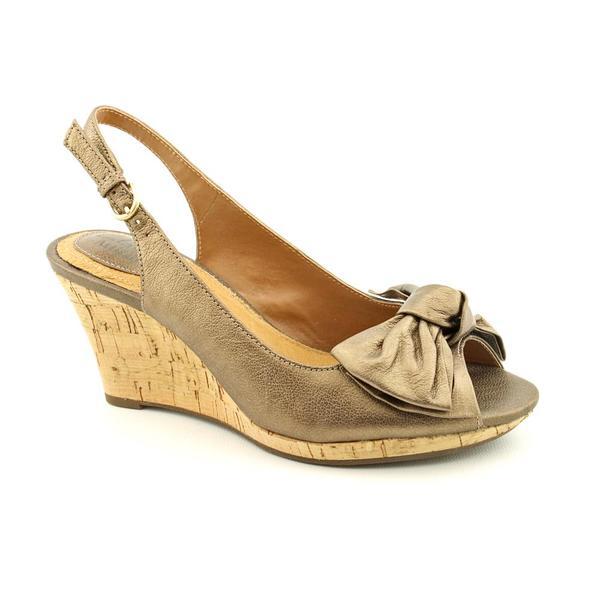 Clarks Artisan Women's 'Fiddle Bow II' Leather Sandals
