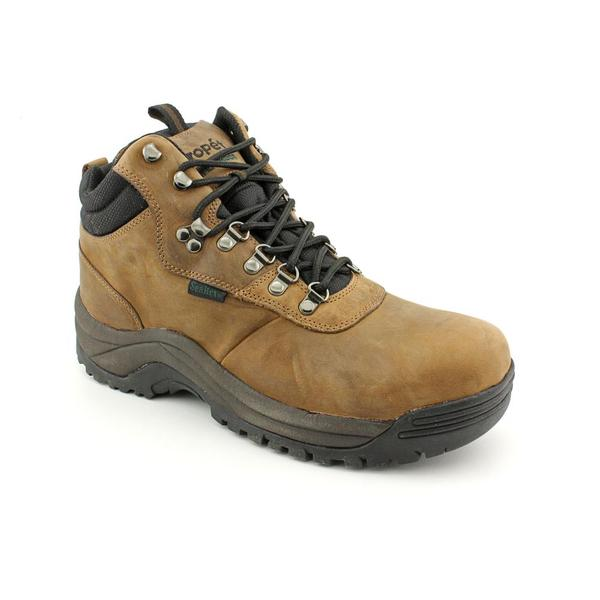 Propet Men S Cliff Walker Nubuck Boots Extra Wide