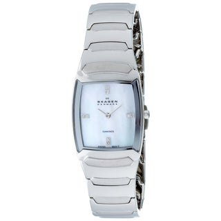 Skagen Women's Crystal-accented Swiss Quartz Watch