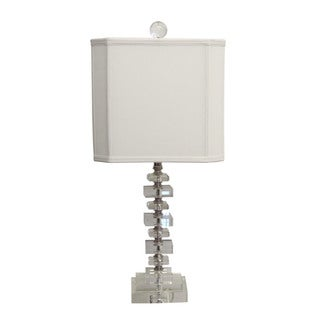 Clear Cubes Mini Table Lamp