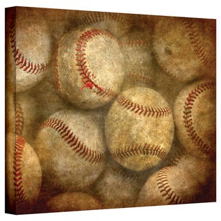 Antonio Raggio 'Worn Baseballs' Gallery-Wrapped Canvas