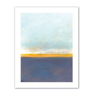 Jan Weiss 'Big Sky Country I' Unwrapped Canvas