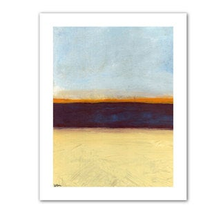 Jan Weiss 'Big Sky Country II' Unwrapped Canvas