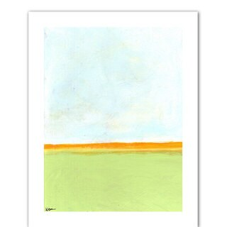 Jan Weiss 'Big Sky Country III' Unwrapped Canvas