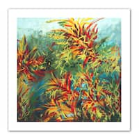 Jan Weiss 'Quiet Lake II' Unwrapped Canvas