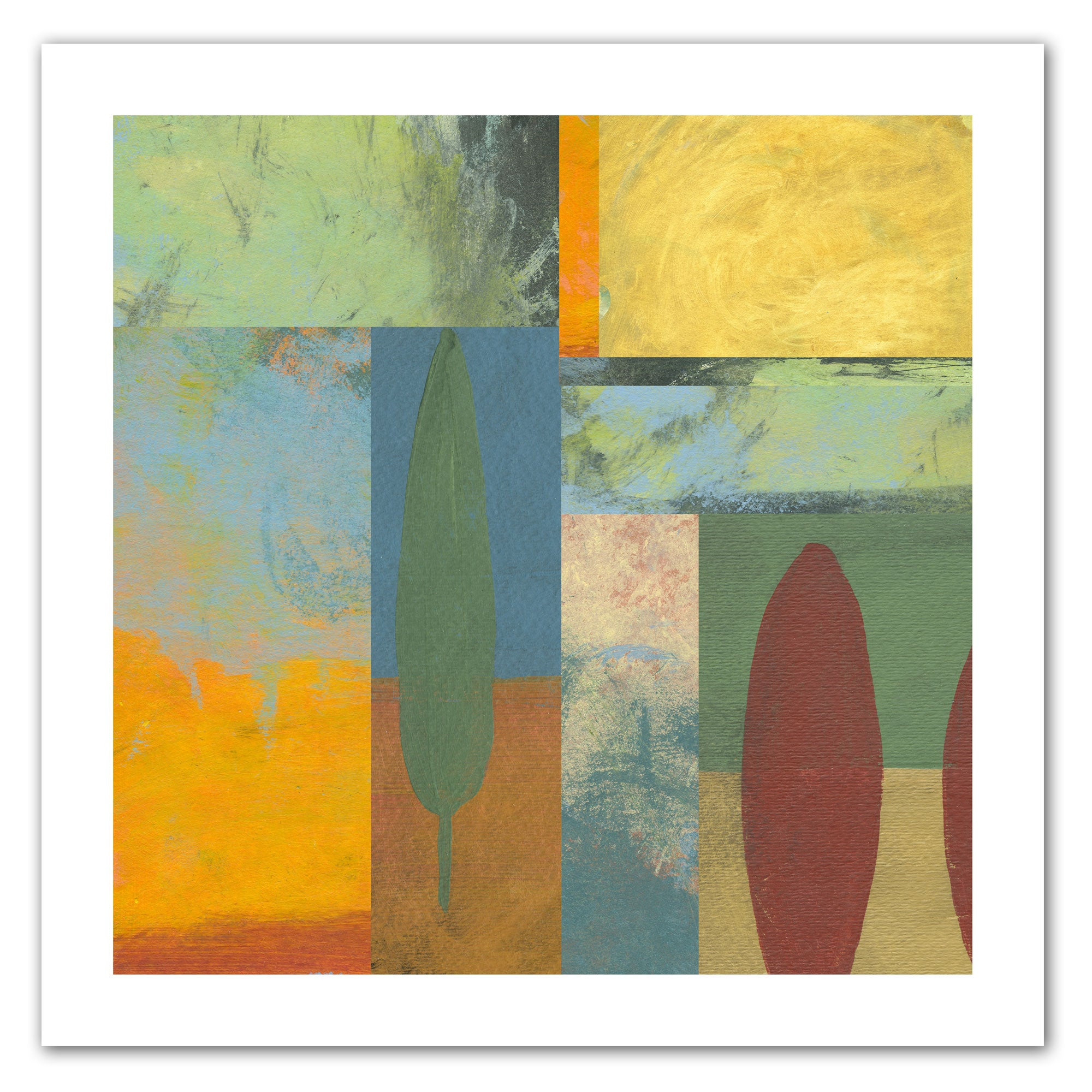 ArtWall Jan Weiss 'Tuscany Square II' Unwrapped Canvas (1...