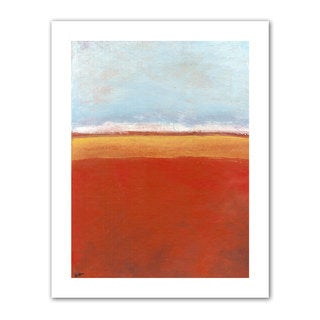 Jan Weiss 'Big Sky Country IV' Unwrapped Canvas